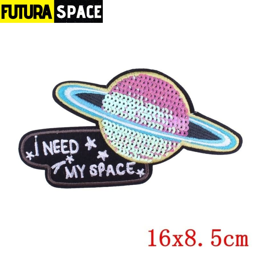 SPACE PATCH - Ironing - Multi-Colored - 100005735
