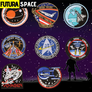 SPACE PATCH - Pilot Astronaut - 100005735