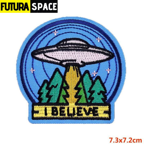 SPACE PATCH - Sky - Fluorescent Yellow - 100005735
