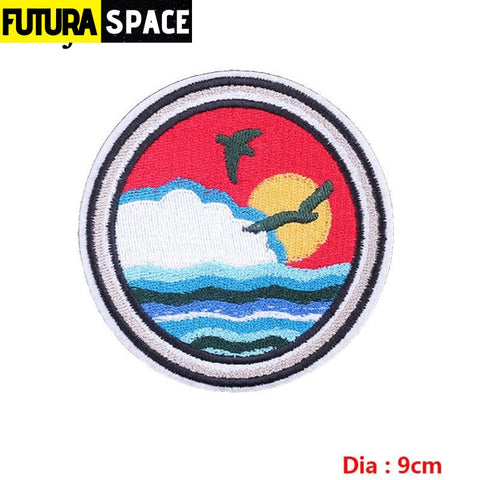 SPACE PATCH - Sky - Lemon yellow - 100005735
