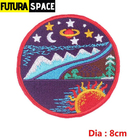 SPACE PATCH - Sky - Pinkish Grey - 100005735