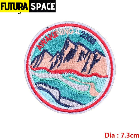 SPACE PATCH - Sky - Violet - 100005735