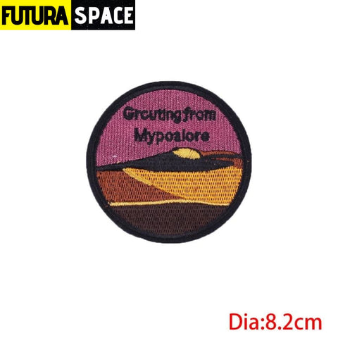 SPACE PATCH - Sky - Black Nickel - 100005735