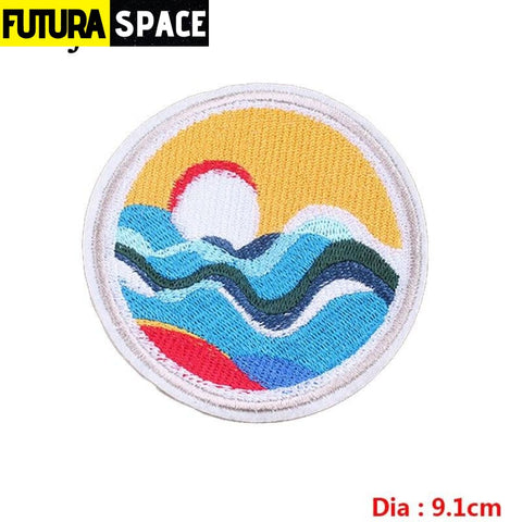 SPACE PATCH - Sky - Beige - 100005735
