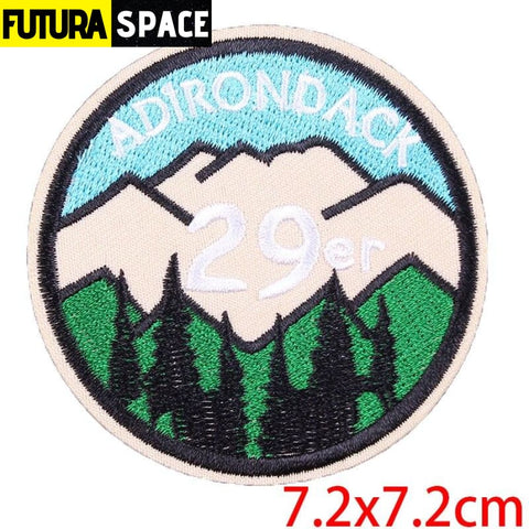 SPACE PATCH - Sky - Dark Khaki - 100005735
