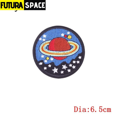SPACE PATCH - Sky - Fluorescent Green - 100005735