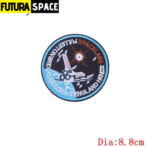 SPACE PATCH - Sky - Peacock Blue - 100005735