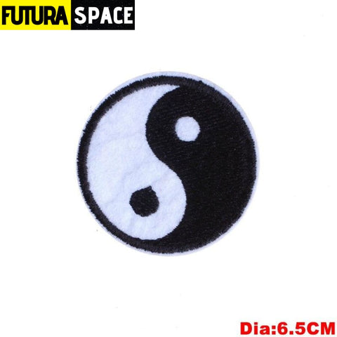 SPACE PATCH - Space Skull - Sky blue - 100005735