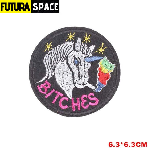 SPACE PATCH - Space Skull - Black Nickel - 100005735