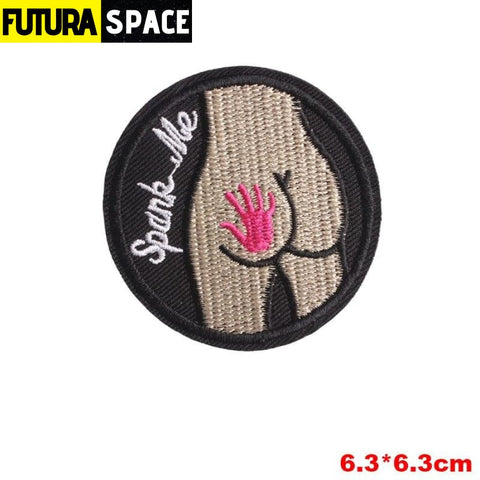 SPACE PATCH - Space Skull - Gun Metal - 100005735