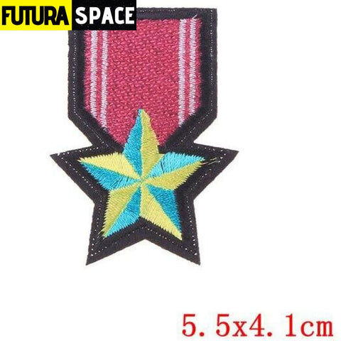 SPACE PATCH - Space Skull - Laser Bright - 100005735