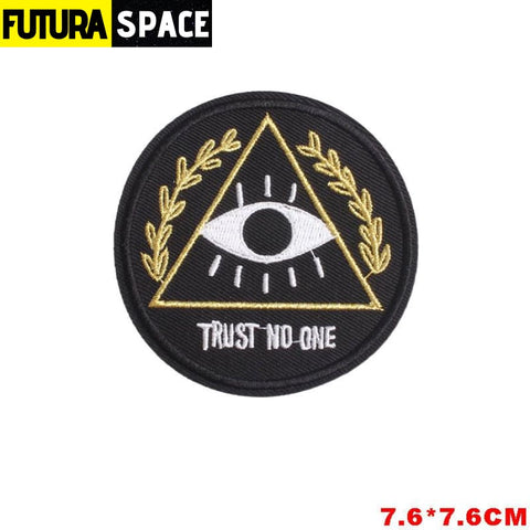 SPACE PATCH - Space Skull - Transparent - 100005735
