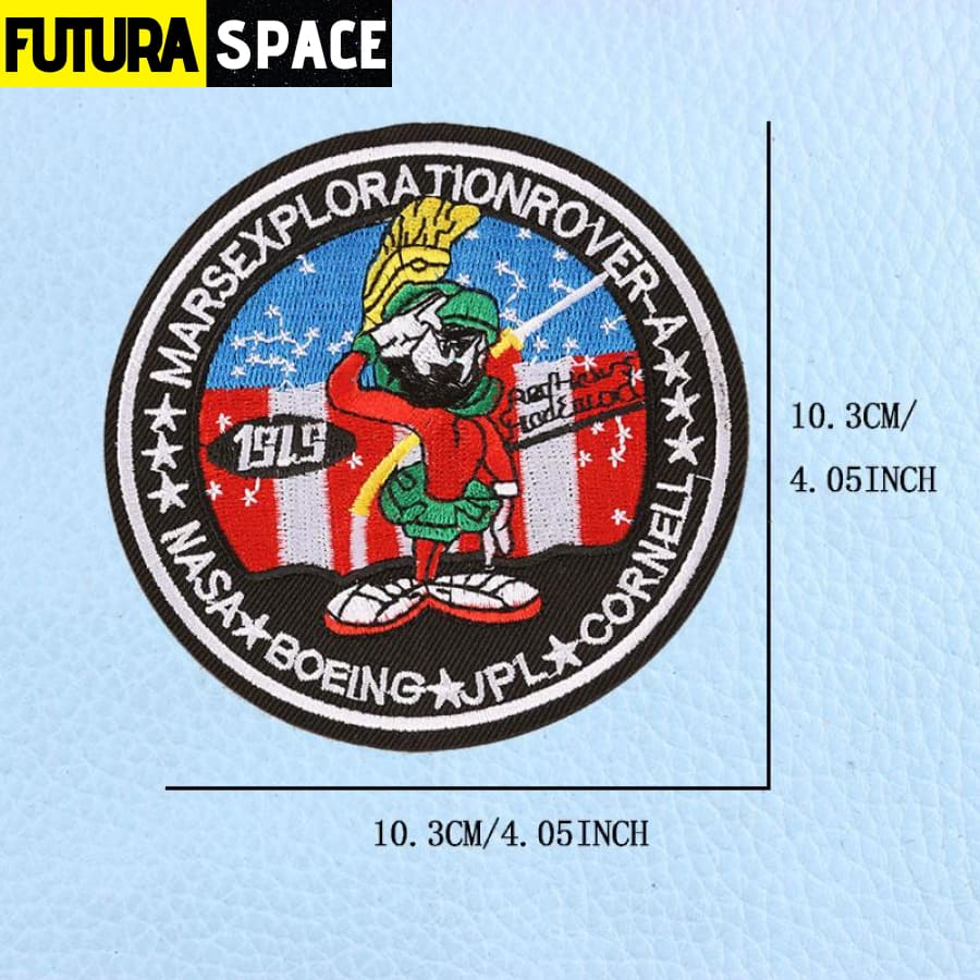 SPACE PATCH - UFO Astronaut - Multi-Colored - 100005735