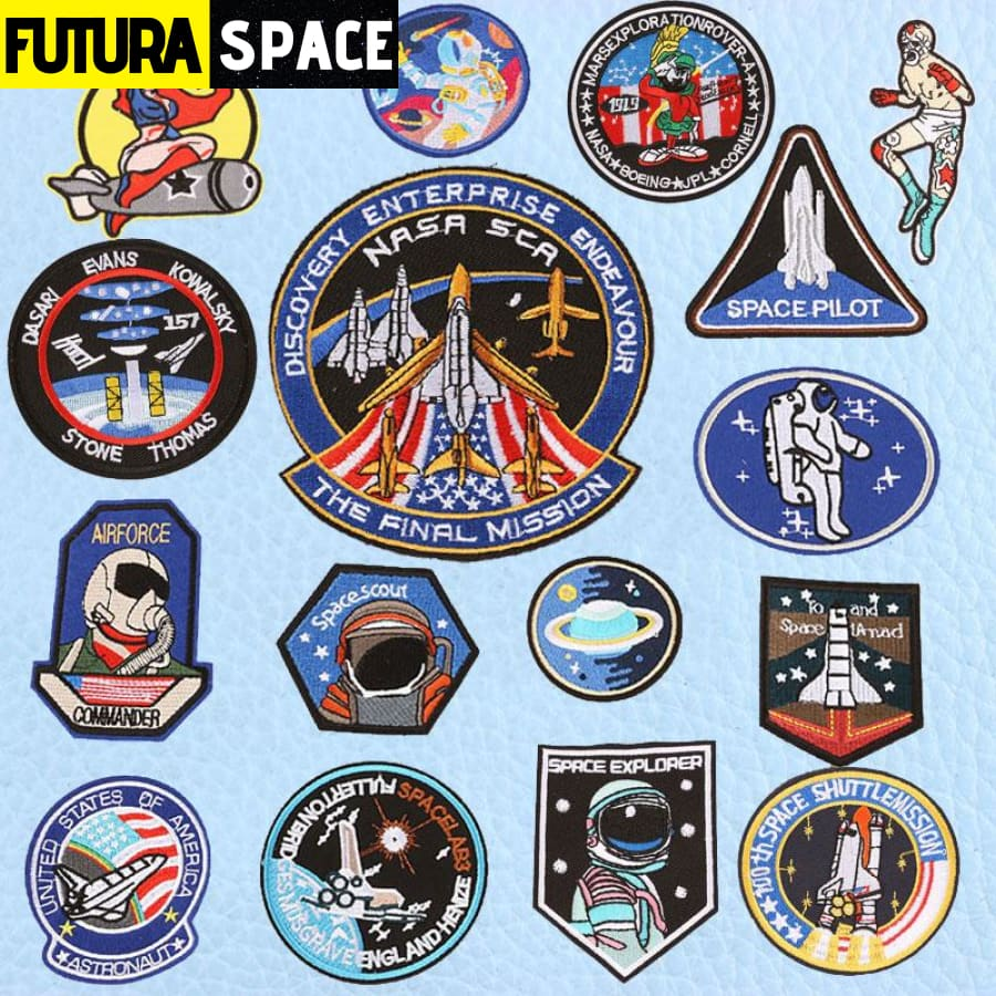 SPACE PATCH - UFO Astronaut - 100005735