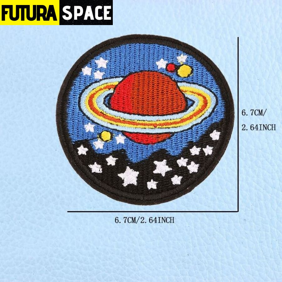 SPACE PATCH - UFO Astronaut - Green - 100005735