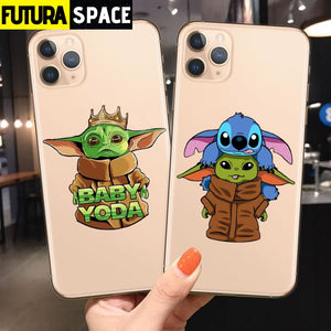 SPACE PHONE CASE - BABY YODA (iPhone) - 380230
