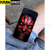 SPACE PHONE CASE - Darth Vader star wars (iPhone) - For