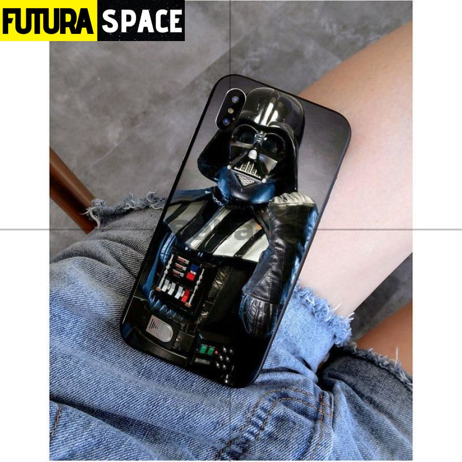 SPACE PHONE CASE - Darth Vader star wars (iPhone)