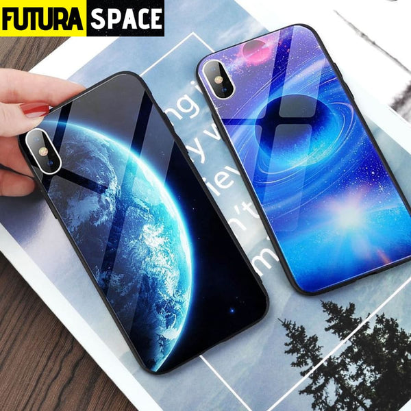 SPACE PHONE CASE - GLASS (iPhone) - 380230