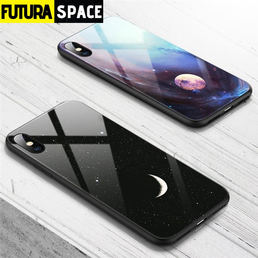 SPACE PHONE CASE - GLASS (iPhone)