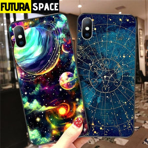 SPACE PHONE CASE - Moon Star (iPhone) - 380230
