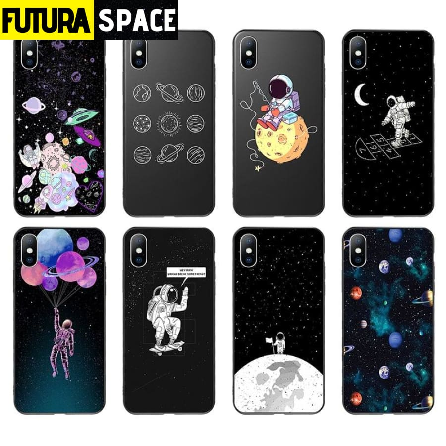 SPACE PHONE CASE - TRAVEL (iPhone)