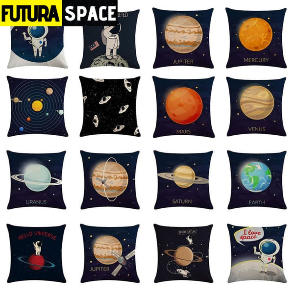 SPACE PILLOW - 45*45cm Cartoon - 40507