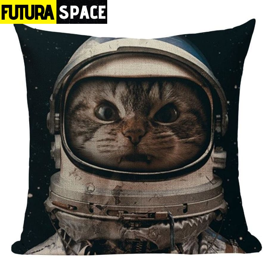 SPACE PILLOW - Astronaut Printed - 450mm*450mm / Color 13 -