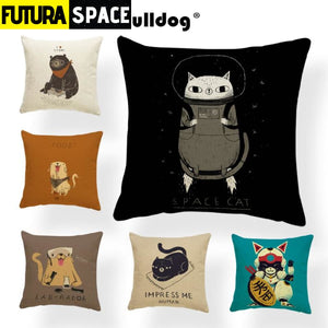SPACE PILLOW - CatS & Dogs - 40507