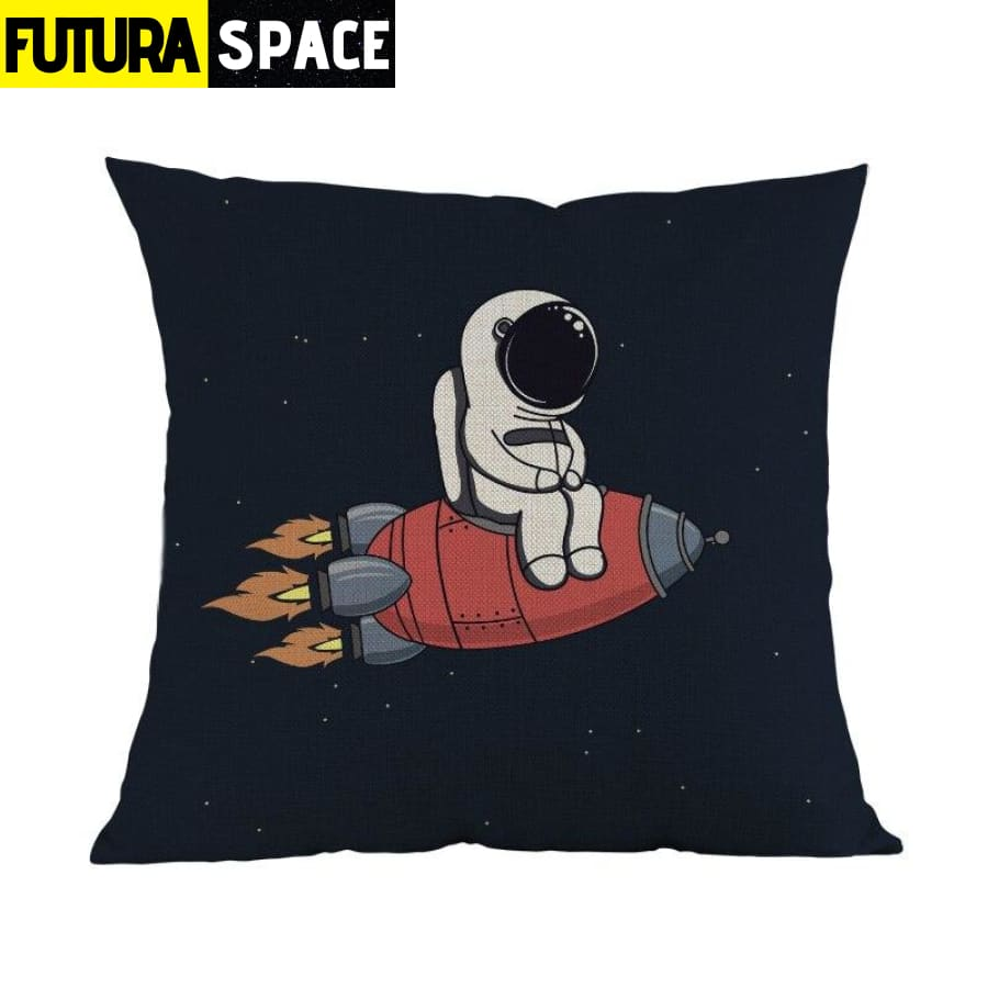 SPACE PILLOW - Funny Astronaut