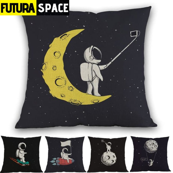 SPACE PILLOW - Funny Astronaut - 40507