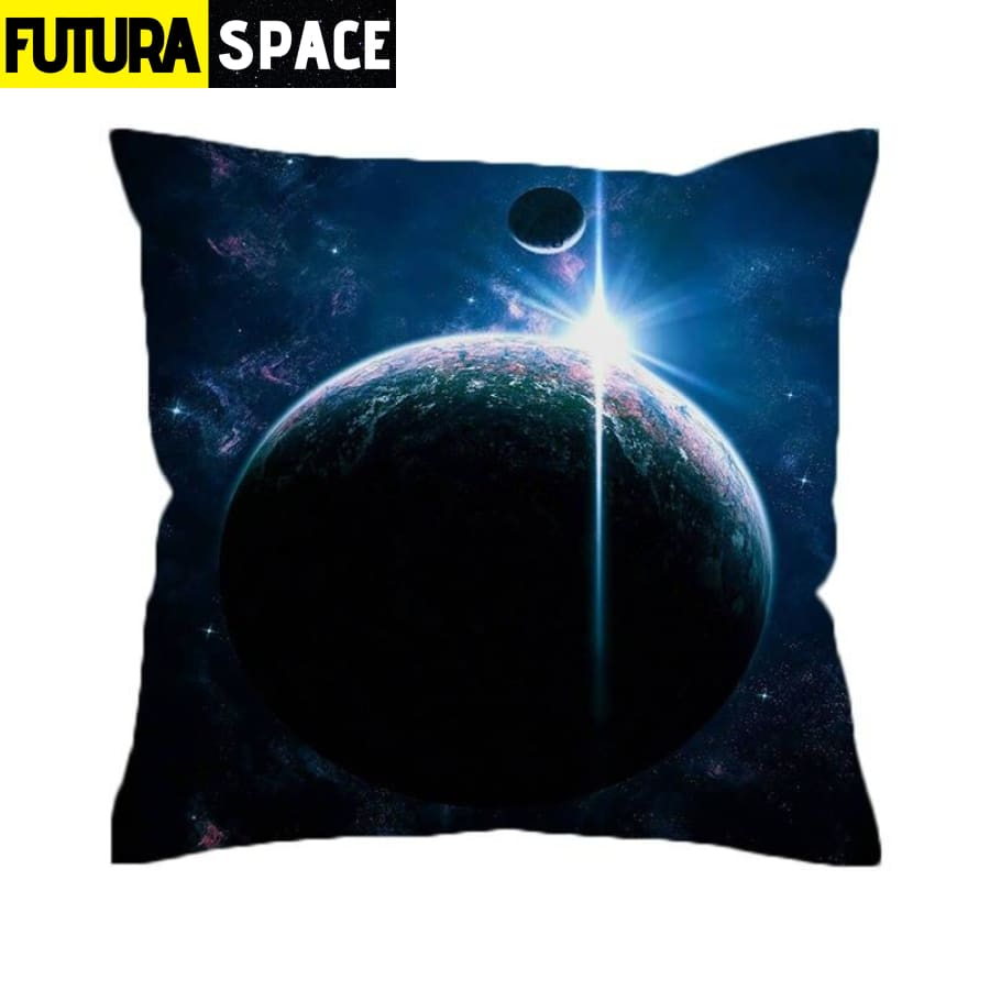 SPACE PILLOW - Outer Space - 45cmx45cm / 2 - 40507