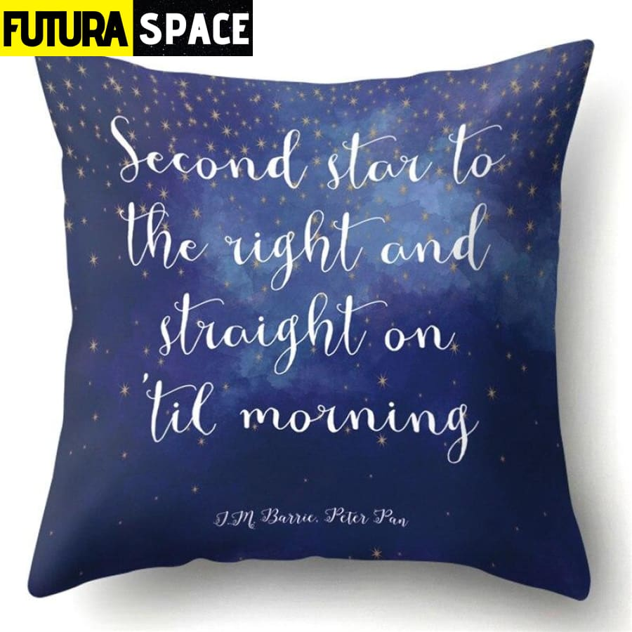 SPACE PILLOW - Outer Space Themed - 18 - 40507