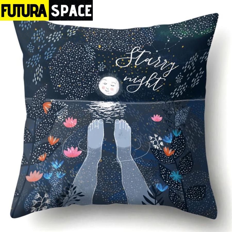 SPACE PILLOW - Outer Space Themed - 19 - 40507