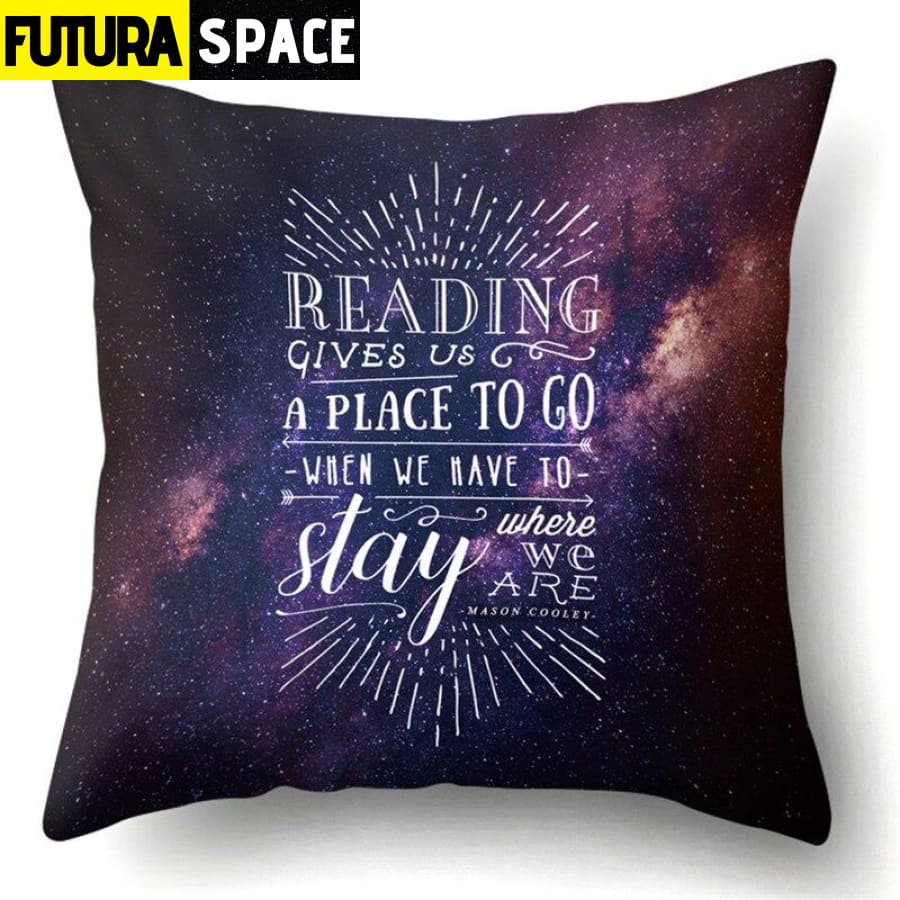 SPACE PILLOW - Outer Space Themed - 17 - 40507