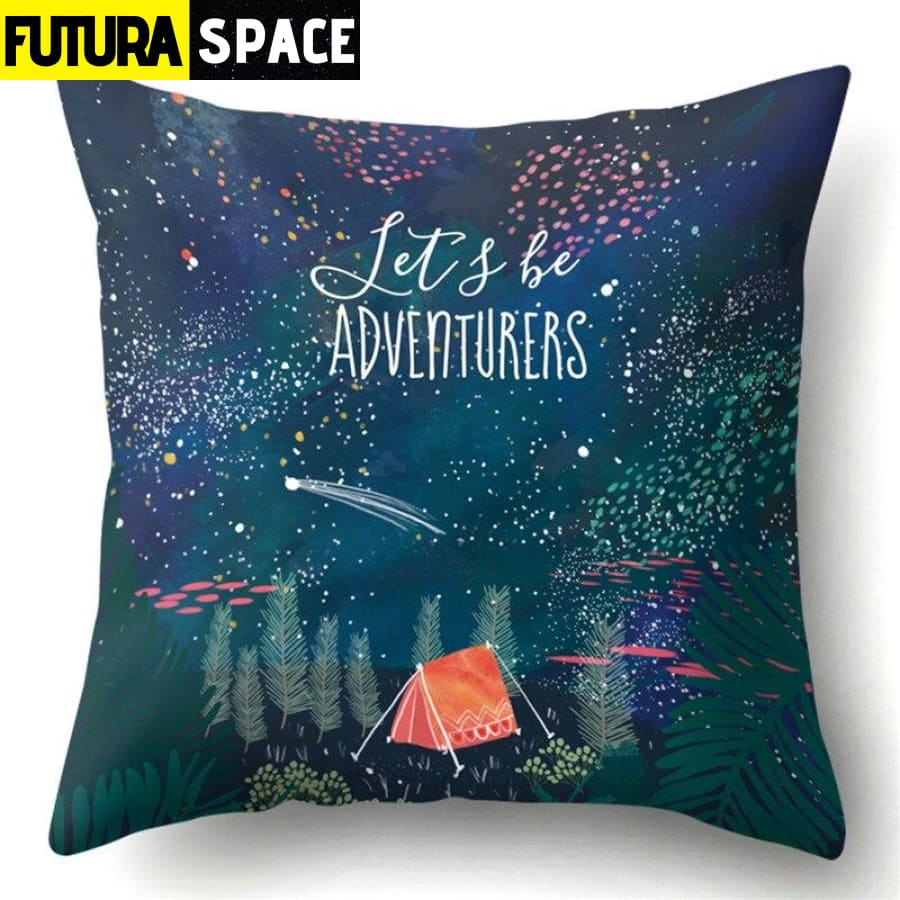 SPACE PILLOW - Outer Space Themed - 14 - 40507