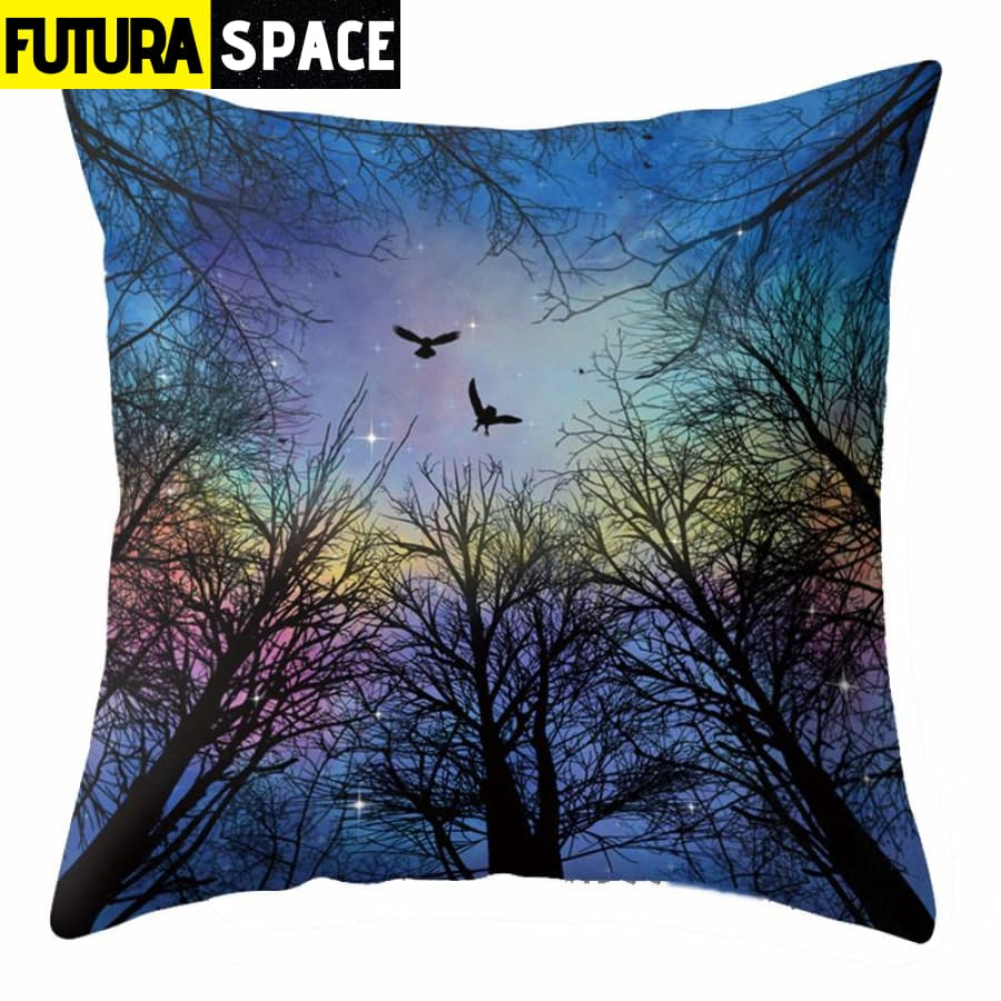 SPACE PILLOW - Outer Space Themed - 40507