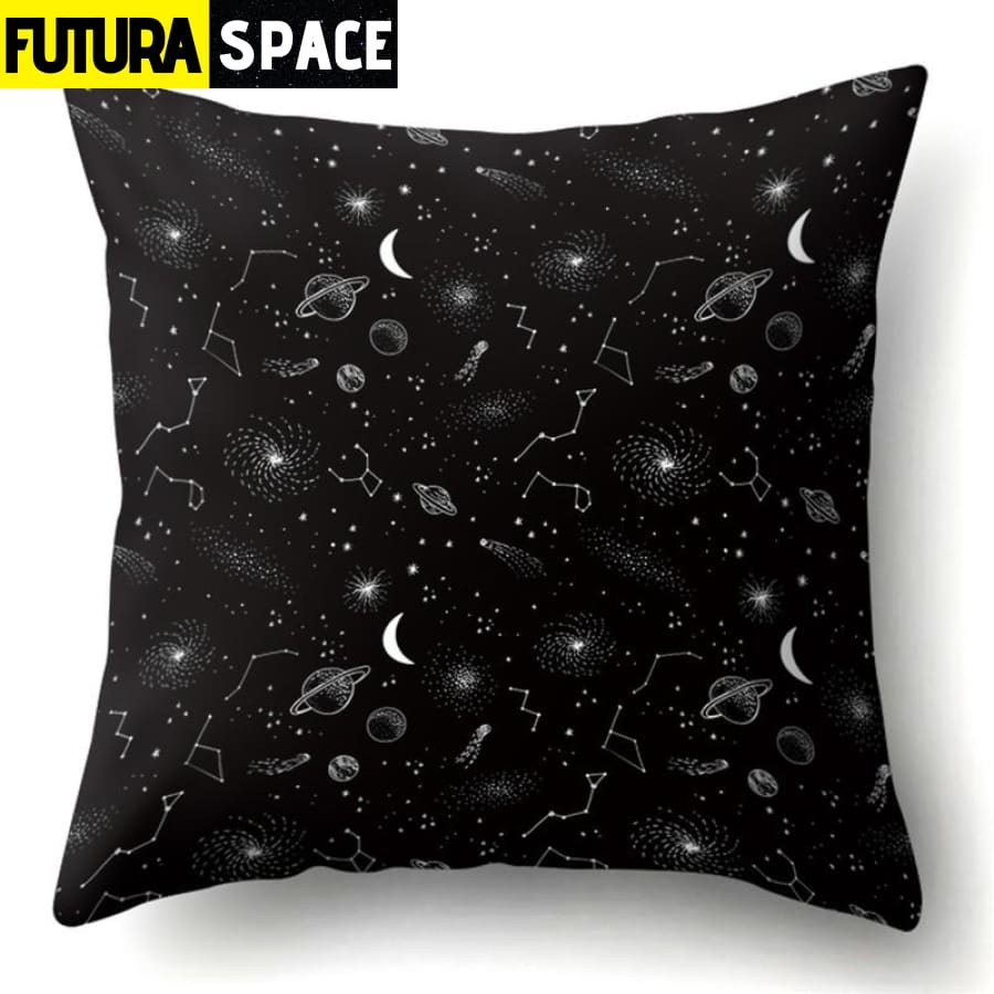 SPACE PILLOW - Outer Space Themed - 11 - 40507