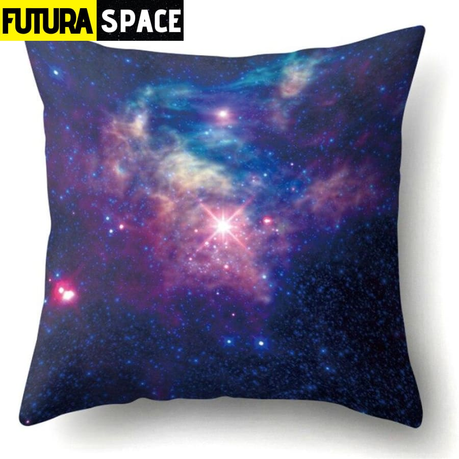 SPACE PILLOW - Outer Space Themed - 12 - 40507
