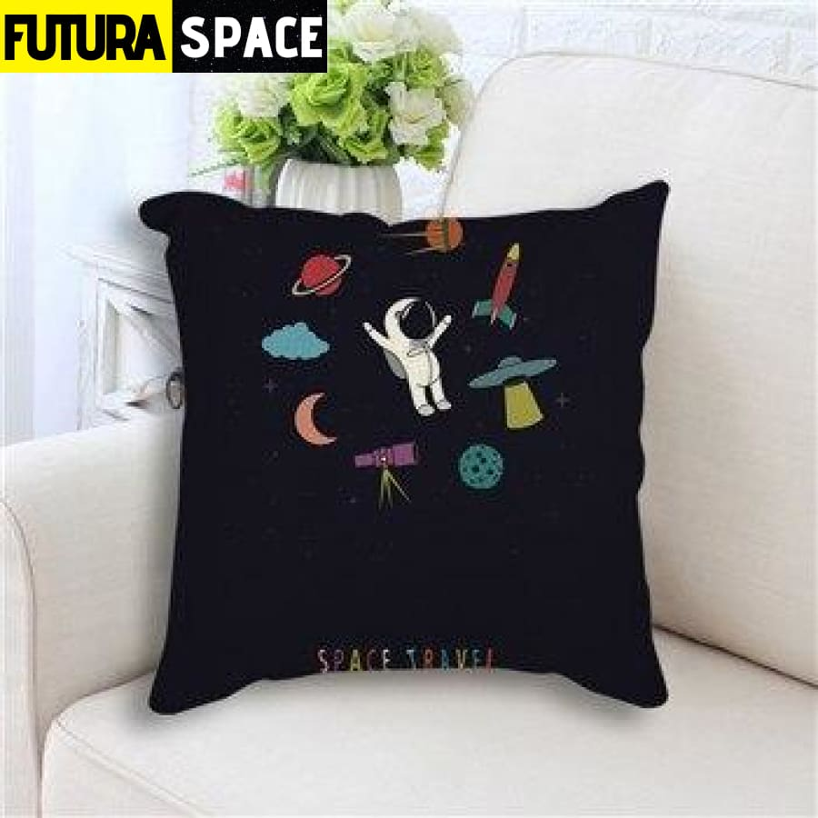 SPACE PILLOW - Star Rocket - 450mm*450mm / as picture 4 -
