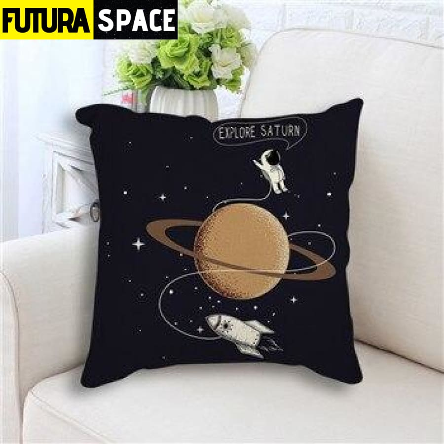 SPACE PILLOW - Star Rocket - 450mm*450mm / as picture 3 -