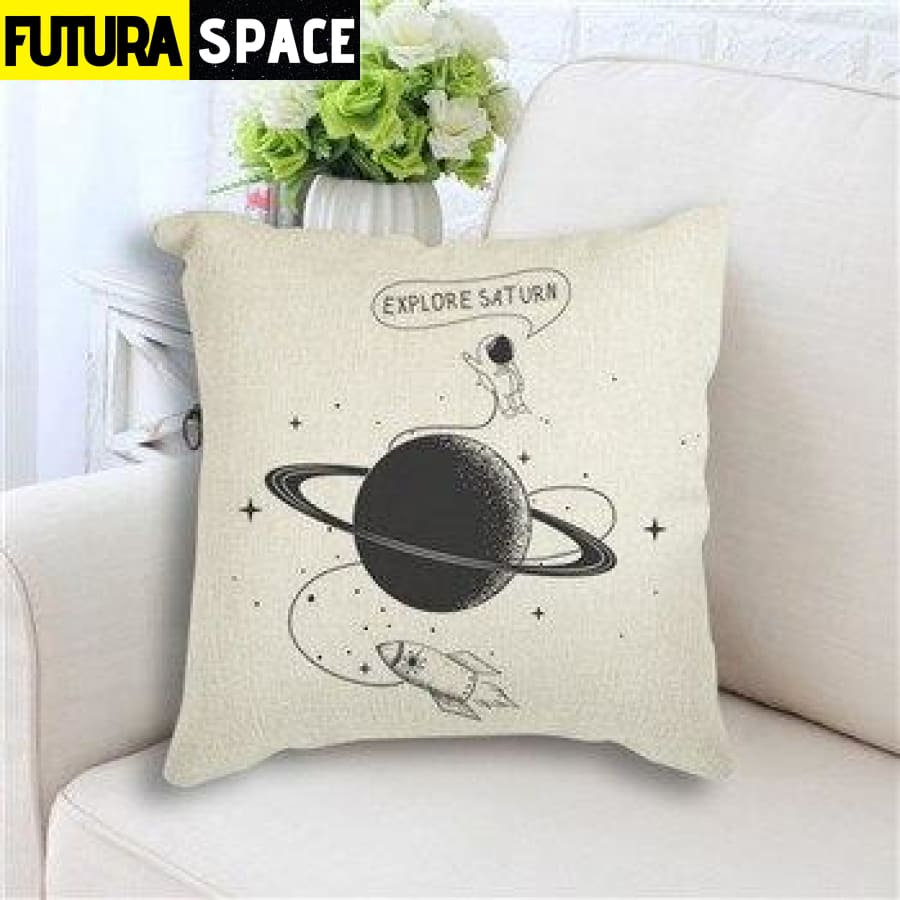 SPACE PILLOW - Star Rocket - 450mm*450mm / as picture 5 -