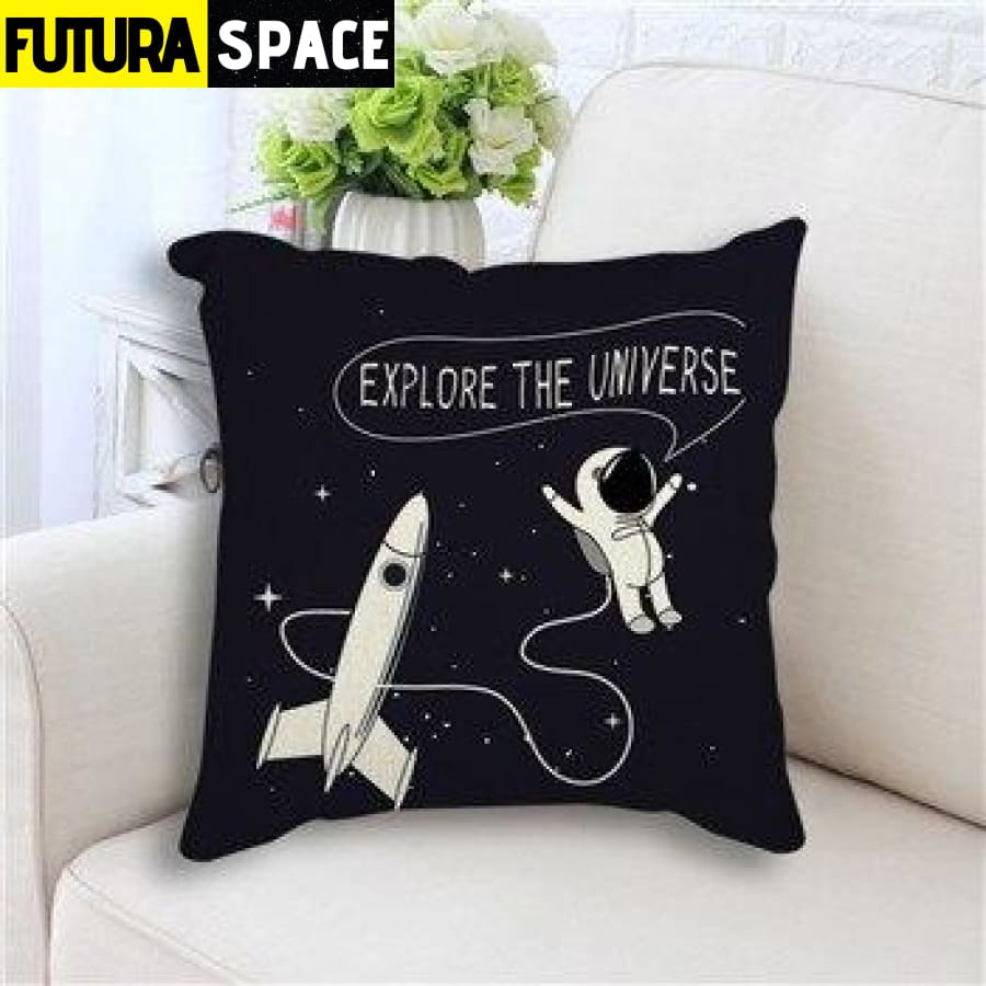 SPACE PILLOW - Star Rocket - 450mm*450mm / as picture 2 -