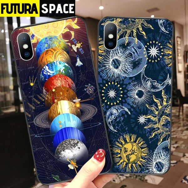 SPACE PLANET PHONE CASE FOR iPhone - 380230