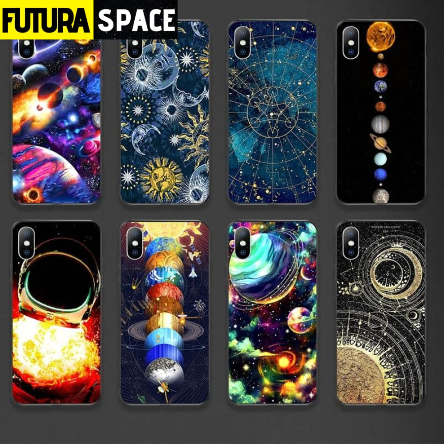 SPACE PLANET PHONE CASE FOR iPhone