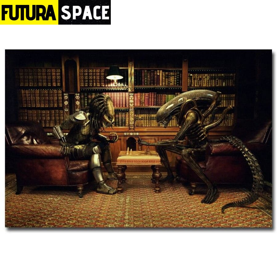 SPACE POSTER - Alien vs Predator 3 - 1704