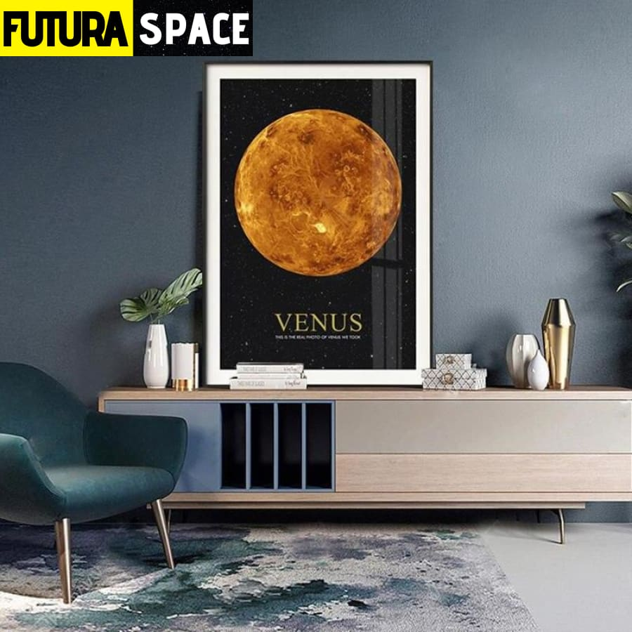 SPACE POSTER - Astronaut Moon - 1704