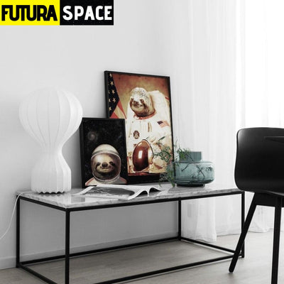 SPACE POSTER - Astronaut Painting - 1704
