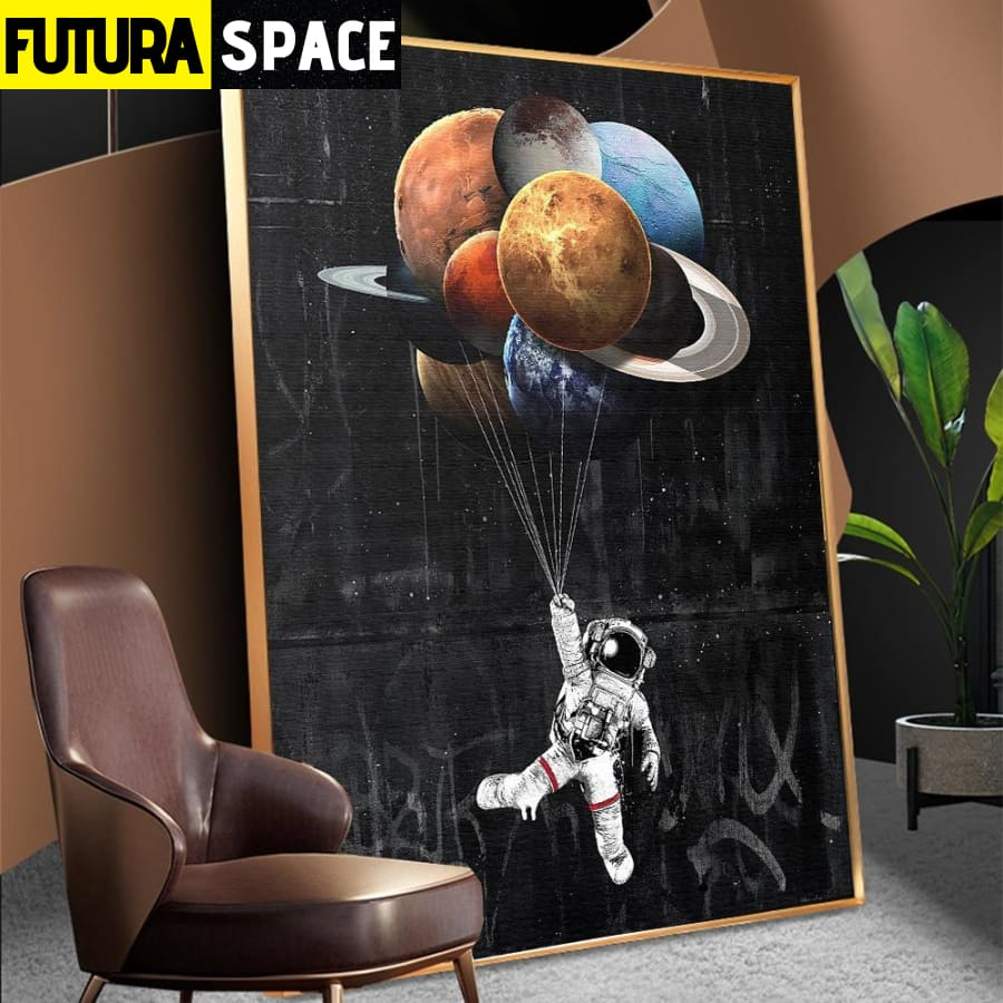 SPACE POSTER - Astronaut Space Dreaming - 1704