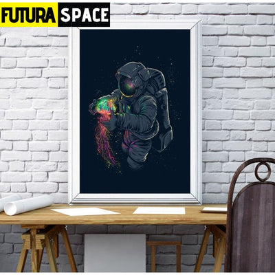 SPACE POSTER - Astronaut Spaceman - 1704